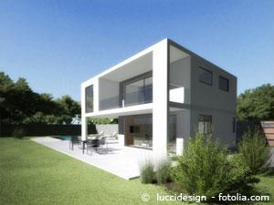 Haus mit Loggia
