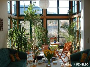 Häuser mit Wintergarten