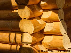 Holzblockhäuser
