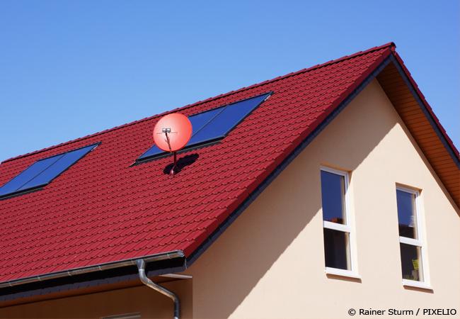 Satteldach auf HausXXL