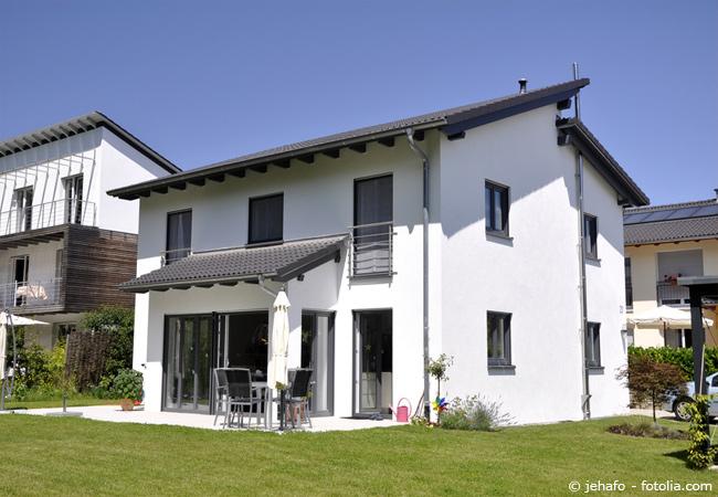 Zweifamilienhäuser als Fertighaus